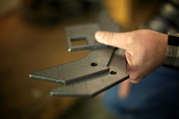 The Extractigator is made from precise laser cut solid steel